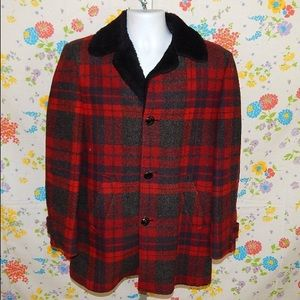 PENDLETON coat wool jacket vintage 60s